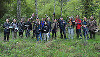 The whole team from the Wild Wonders of China Pioneer mission to Tangjiahe National Nature Reserve, NNR, Qingchuan County, Sichuan province, China