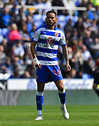 Lewis Baker (16) of Reading during the EFL Sky Bet Championship match between Reading and Brentford at the Madejski Stadium, Reading, England on 13 April 2019.