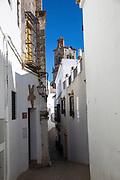 Narrow street, Spain; Arcos de la Frontera