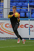 Leyton Orient goalkeeper Charlie Grainger  during the Sky Bet League 2 match between Hartlepool United and Leyton Orient at Victoria Park, Hartlepool, England on 15 November 2015. Photo by Simon Davies.
