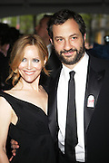 l to r: Leslie Mann and Judd Apatow at The Time !00 celebration of The 100 Most Influential People in the World held at The Timer Warner Center in New York City  on Mayy 5, 2009