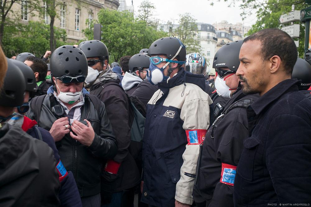 Manifestation contre la loi travail El Khomri - Paris, 19 mai 2016