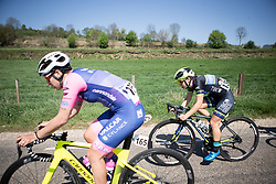 Shannon Malseed (AUS) of Tibco-Silicon Valley Bank Cycling Team digs deep during the Amstel Gold Race - Ladies Edition - a 126.8 km road race, between Maastricht and Valkenburg on April 21, 2019, in Limburg, Netherlands. (Photo by Balint Hamvas/Velofocus.com)