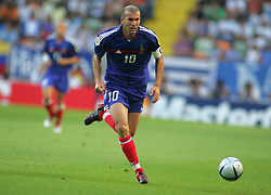 Apr 28, 2004; Paris, FRANCE; French soccer star ZINEDINE ZIDANE, currently playing for Real Madrid and captain of the French National soccer team.  (Credit Image: © Bibard/Panoramic/ZUMAPRESS.com)