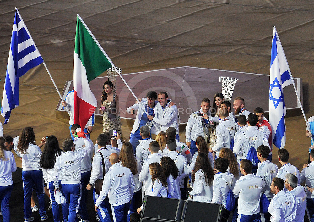 Baku, Azerbaijan 28 giugno 2015<br /> 1st European Games.<br /> Cerimonia di chiusura.<br /> Foto Simone Ferraro / GMT