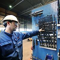 Nederland, Ijmuiden , 28 april 2010..Een gereedschapbord in een werkplaats van cofely..Cofely levert innovatieve, state-of-the-art oplossingen in de werktuigbouw, elektrotechniek en automatisering voor de industrie. .Cofely provides innovative, state-of-the-art solutions in mechanical, electrical and automation industry.