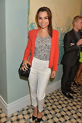 SAMANTHA BARKS at the Grand opening of Library - a new members club at 112 St Martin's Lane, London on 25th June 2014.