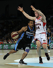 Auckland - Basketball - ANBL 2012-13, Round 17, Breakers v Wildcats