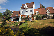 Former watermill converted to house, Shottisham Mill, Suffolk, England
