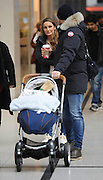EXCLUSIVE<br /> Sam Faiers pictured in Manchester Arndale Centre withPaul and baby Paul
