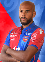 Remi Mulumba during photoshooting of Gazelec Ajaccio for new season 2017/2018 on September 26, 2017 in Ajaccio<br /> Photo : Gfca / Icon Sport