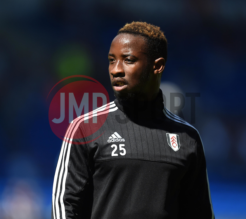 Moussa Dembele of Fulham - Mandatory by-line: Paul Knight/JMP - Mobile: 07966 386802 - 08/08/2015 -  FOOTBALL - Cardiff City Stadium - Cardiff, Wales -  Cardiff City v Fulham - Sky Bet Championship