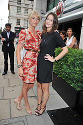 Left to right, LADY EMILY COMPTON and ARABELLA MUSGRAVE at a party to launch the Gucci designed Fiat 500 customized by Gucci Creative Director Frida Giannini in collaboration with FIAT's Centro Stile, held at Fiat, 105 Wigmore Street, London on 27th June 2011.