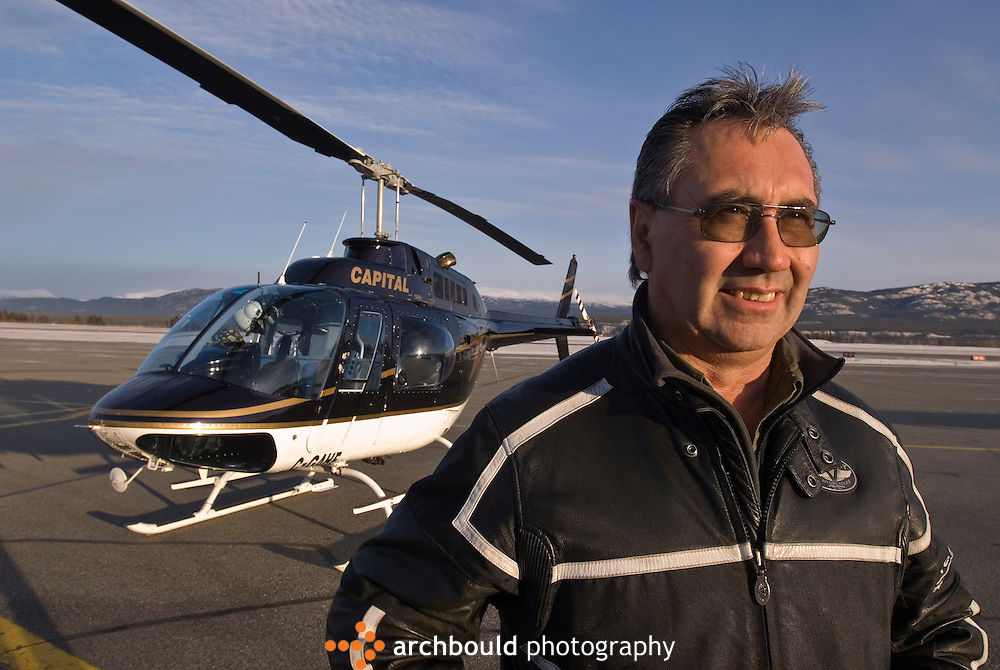 Helicopter pilot in Whitehorse, Yukon.<br /> <br /> NOT IN YOUR BUDGET? Contact Cathie for a price specific to your project.