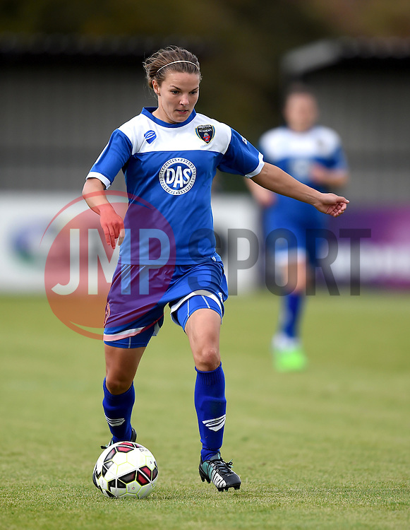 Loren Dykes of Bristol Academy Women - Mandatory by-line: Paul Knight/JMP - Mobile: 07966 386802 - 13/09/2015 -  FOOTBALL - Stoke Gifford Stadium - Bristol, England -  Bristol Academy Women v Liverpool Ladies FC - FA WSL Continental Tyres Cup