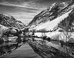 Silverton Beaver Pond,near Silverton, Colorado