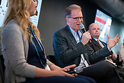 Dan Meyer from BizTImes Media at the Wisconsin Entrepreneurship Conference at Venue 42 in Milwaukee, Wisconsin, Wednesday, June 5, 2019.