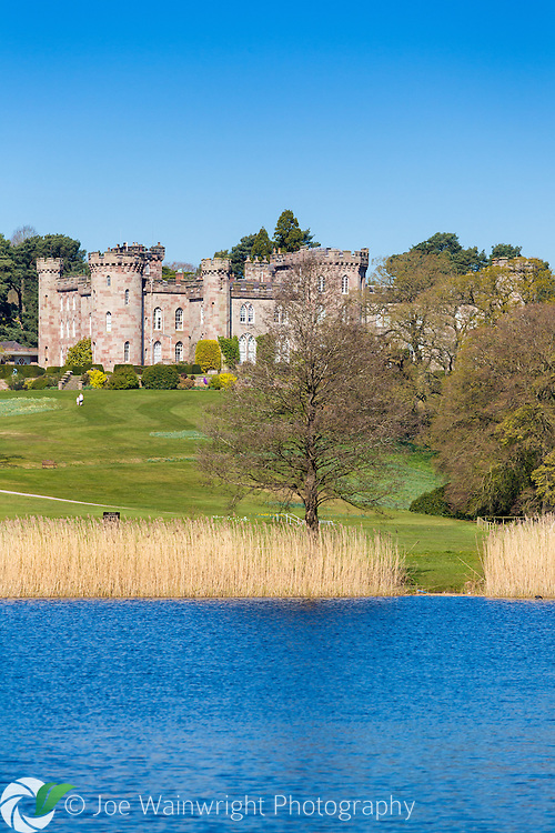 Work on Cholmondeley Castle, Cheshire, began in 1801 - while the house is not open to the public, the beautiful gardens are a major attraction