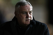 Dave Jones, Hartlepool Manager looks on before the EFL Sky Bet League 2 match between Cambridge United and Hartlepool United at the Cambs Glass Stadium, Cambridge, England on 14 March 2017. Photo by Harry Hubbard.