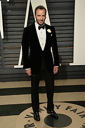 Celebrity arrivals at the Vanity Fair Oscar Party 2017 in Los Angeles, California. 26 Feb 2017 Pictured: Tom Ford. Photo credit: BITSY / MEGA TheMegaAgency.com +1 888 505 6342
