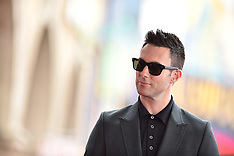 LA: Adam Levine honored with Walk of Fame star 5 Feb 2017