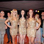 NLD/Den Haag/20110731 - Premiere musical Alice in Wonderland met K3, Kristel Verbeke, Karen Damen, Josje Huisman