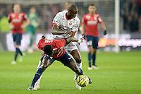 Abdoulaye Doucoure / Idrissa Gueye - 15.03.2015 - Lille / Rennes - 29e journee Ligue 1<br /> Photo : Andre Ferreira / Icon Sport