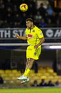 Reuben Reid of Plymouth Argyle during the Sky Bet League 2 match at Roots Hall, Southend<br /> Picture by David Horn/Focus Images Ltd +44 7545 970036<br /> 10/01/2015