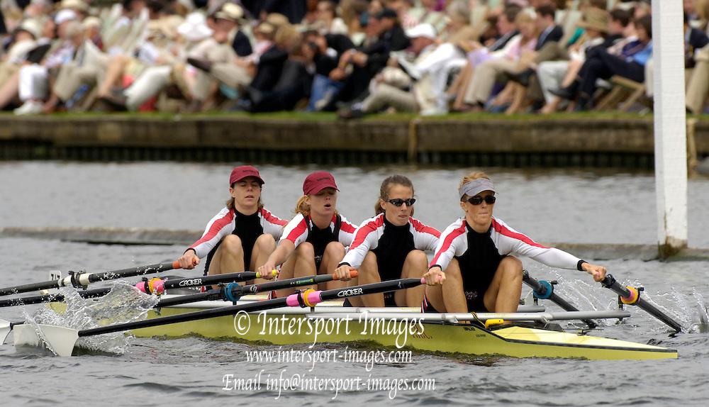 2005 Henley Royal Regatta, Henley on Thames, ENGLAND. 03.07.205  .Sunday Finals day, Thames Rowing Club runners up Princess Grace  Challenge Cup.  Peter Spurrier.   .email images@intersport-images.[Mandatory Credit Peter Spurrier/ Intersport Images] . HRR.