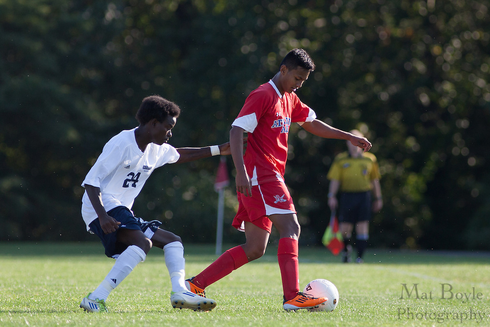 Cape-Atlantic Community College Mens Soccer at Camden County College in Blackwood, NJ on Friday September 13, 2012. (photo / Mat Boyle)