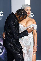 Shawn Mendes attends the 2019 American Music Awards, AMAs, at Microsoft Theatre in Los Angeles, USA, on 25 November 2019. Photo: Vinnie Levine. 24 Nov 2019 Pictured: Rich The Kid and Antonette Willis attend the 2019 American Music Awards, AMAs, at Microsoft Theatre in Los Angeles, USA, on 25 November 2019. Photo: Vinnie Levine. Photo credit: Vinnie Levine / MEGA TheMegaAgency.com +1 888 505 6342