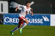 21.09.2017; Niederhasli; FUSSBALL U16 - Schweiz - Italien;<br /> Leonidas Stergiou (SUI) <br /> (Andy Mueller/freshfocus)