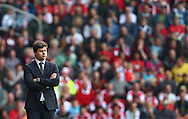 Picture by Paul Terry/Focus Images Ltd +44 7545 642257<br /> 28/09/2013<br /> Mauricio Pochettino, Manager of Southampton during the Barclays Premier League match at the St Mary's Stadium, Southampton.