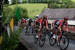 Leah Kirchmann (CAN) of Team Sunweb rides on Stage 6 of 2019 OVO Women's Tour, a 125.9 km road race from Carmarthen to Pembrey, United Kingdom on June 15, 2019. Photo by Balint Hamvas/velofocus.com
