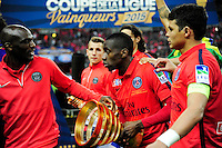 Victoire du PSG / Blaise MATUIDI  - 11.04.2015 -  Bastia / PSG - Finale de la Coupe de la Ligue 2015<br />