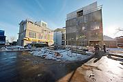 Strandpromenaden,Hellerup, luksuslejligheder under konstruktion, Bygherre: Bricks, Ingeniør: Niras, Arkitekt: Schmidt Hammer Lassen architects, Landinspektør: Bøgh og Krabbe, , eksteriør, byggeplads, råhus