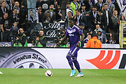 Anderlecht Defender Serigne Modou Kara Mbodji during the UEFA Europa League Quarter-final, Game 1 match between Anderlecht and Manchester United at Constant Vanden Stock Stadium, Anderlecht, Belgium on 13 April 2017. Photo by Phil Duncan.