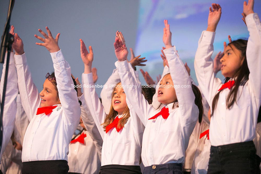 2/10/16 12:30:15 PM <br /> Chicago Children's Choir Black History Month Navy Pier Celebration. <br /> <br />  &copy; Todd Rosenberg Photography 2016