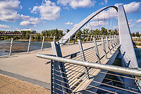 George C. King Bridge, Riverwalk