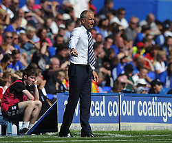 PAUL TROLLOPE MANAGER CARDIFF CITY, Birmingham City v Cardiff City Sky Bet Championship  6th August 2016 <br /> Photo: Mike Capps