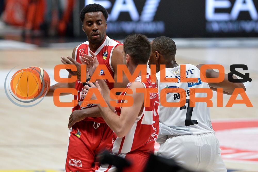 McLean Jamel<br /> Olimpia EA7 Emporio Armani Milano vs Dolomiti Energia Trentino<br /> Lega Basket Serie A 2016/2017<br /> PlayOff semifinale gara 2<br /> Milano 27/05/2017<br /> Foto Ciamillo-Castoria / I.Mancini