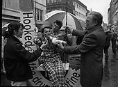 1986 - Anti-Smoking Campaign,Grafton Street