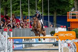 AGUIRRE Mariel Victoria (MEX), ARIS CMS<br /> Münster - Turnier der Sieger 2019<br /> BRINKHOFF'S NO. 1 -  Preis<br /> CSI4* - Int. Jumping competition  (1.50 m) -<br /> 1. Qualifikation Grosse Tour <br /> Large Tour<br /> 02. August 2019<br /> © www.sportfotos-lafrentz.de/Stefan Lafrentz