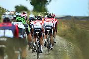 BELGIUM / BELGIE / BELGIQUE / CYCLING / WIELRENNEN / CYCLISME / UCI EUROPE TOUR / NAPOLEON GAMES CYCLING CUP / DWARS DOOR HET HAGELAND / FROM AARSCHOT TO DIEST / 197,7 KM / BEVEKOMSESTRAAT IN BIERBEEK (STROOK 1) / WALSLEBEN PHILIPP (BEOBANK-CORENDON) / TOUPALIK ADAM (BEOBANK-CORENDON)