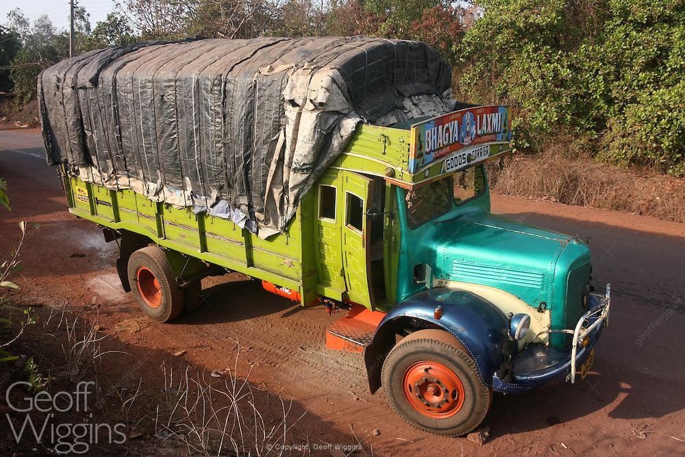 Vintage Indian Tata 1210 SE truck Maharashtra, India