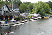 Maidenhead, United kingdom. General View,  GV's. of Maidenhead Rowing Club,  centre of activities associated with the Maidenhead Junior Regatta.RiverThames at Maidenhead.  Sunday  15/05/2011 .   [Mandatory Credit; Karon Phillips/Intersport-images]
