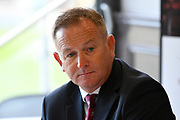 Somerset County Cricket Club CEO Andrew Cornish during the 2019 media day at Somerset County Cricket Club at the Cooper Associates County Ground, Taunton, United Kingdom on 2 April 2019.
