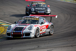 July 27, 2018 - Sao Paulo, Sao Paulo, Brazil - Car #54 in action during the free practice session for the 5th stage of the 2018 Brazilian Porsche GT3 Cup championship, which takes place on Saturday, 28 at Interlagos circuit in Sao Paulo, Brazil. (Credit Image: © Paulo Lopes via ZUMA Wire)