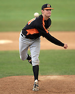 Cowboy shortstop Jordy Mercer came in to pitch in relief in the eighth inning and picked up the win, as Oklahoma State defeated K-State 9-4 in 10 innings at Tointon Stadium in Manhattan, Kansas, April 30, 2006.