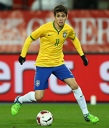 18.11.2014, Ernst Happel Stadion, Wien, AUT, Freundschaftsspiel, Oesterreich vs Brasilien, im Bild Oscar (BRA) // during the friendly match between Austria and Brasil at the Ernst Happel Stadion, Vienna, Austria on 2014/11/18. EXPA Pictures © 2014, PhotoCredit: EXPA/ Thomas Haumer